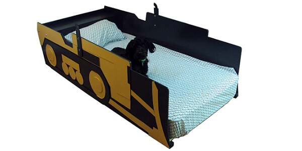 Kids bed frame custom concept
