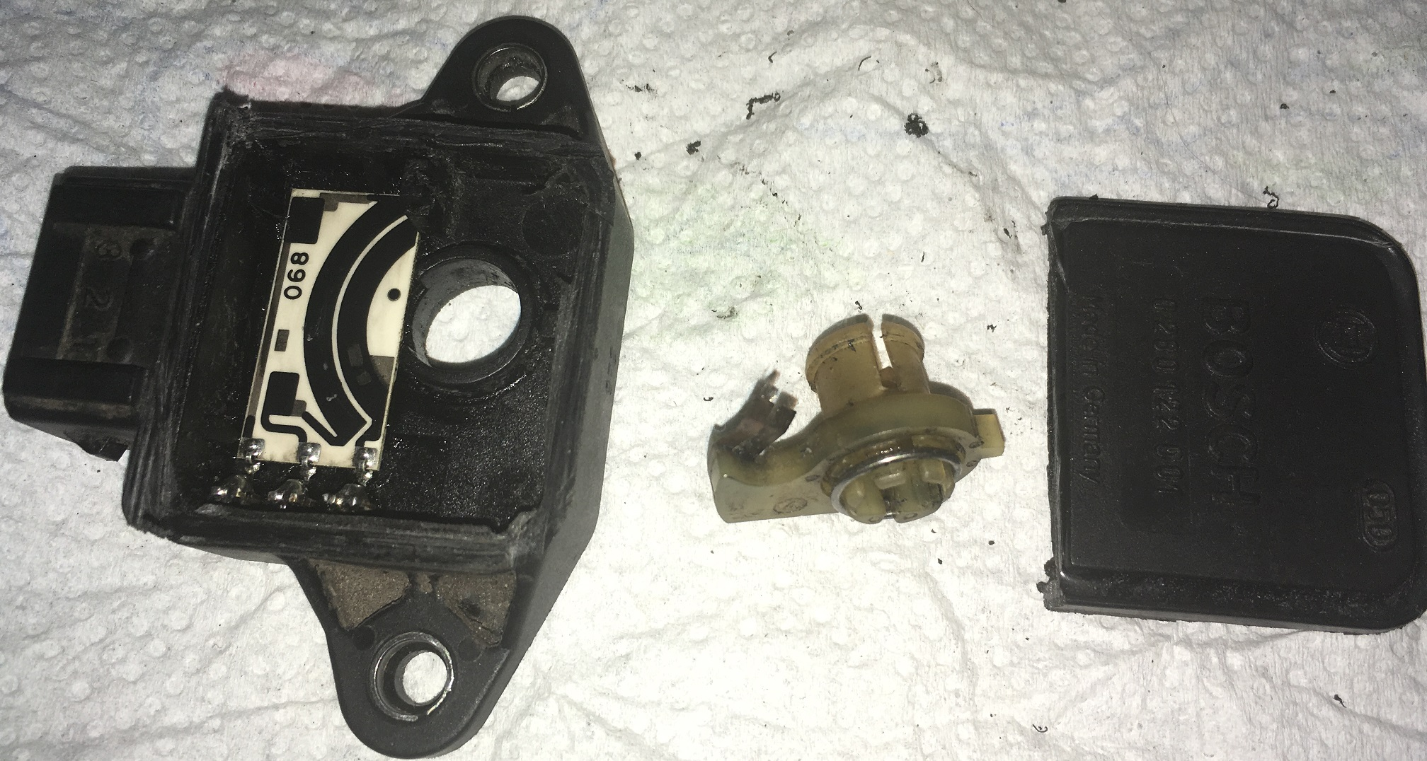 Bosch TPS disassembled
