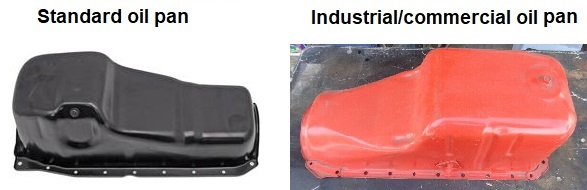 Big block oil pan comparison