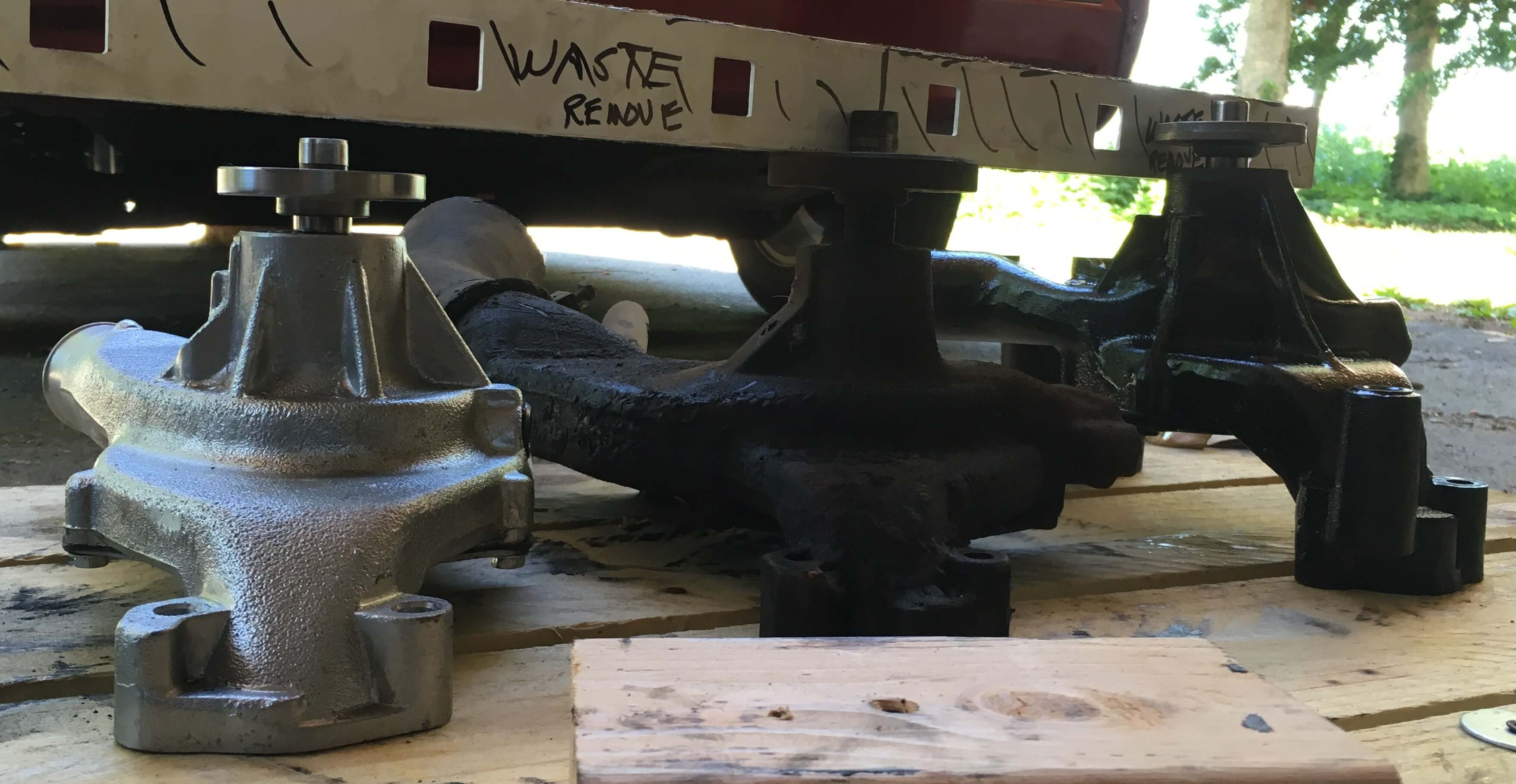 Big block chevrolet water pump comparison