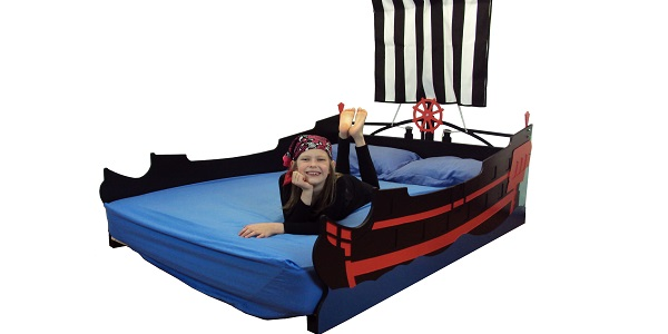 full pirate ship bed