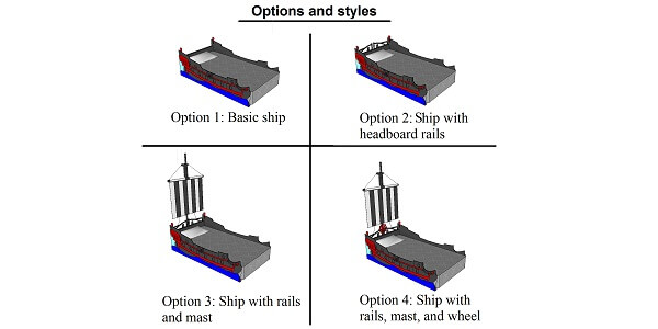 boat bed options