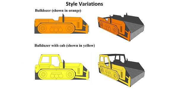 bulldozer bed options