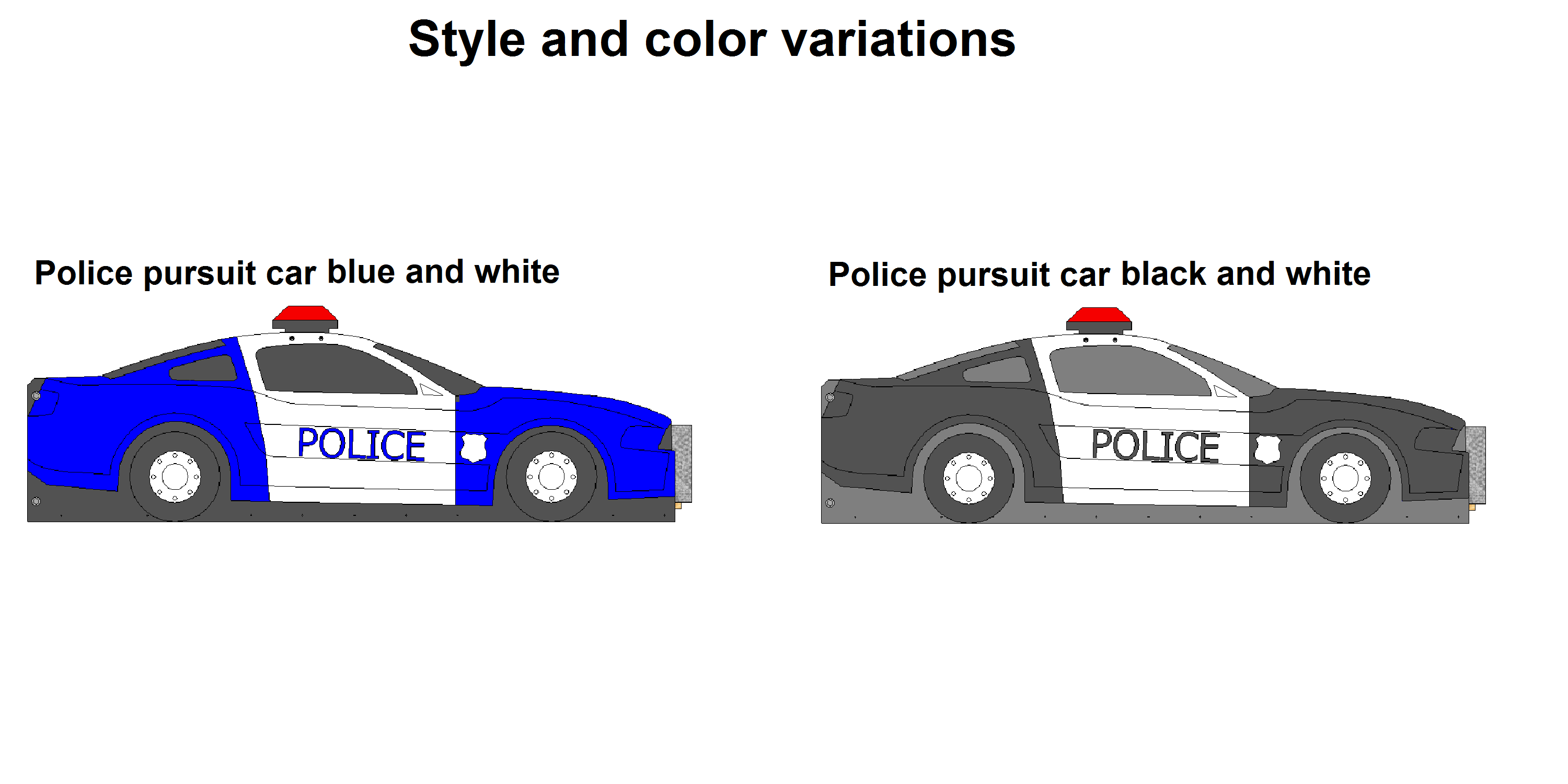 police car bed options