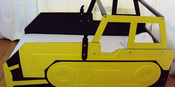 Construction equipment bed frame