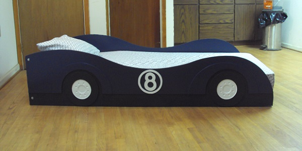 car bed side view