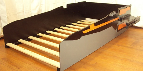 X-wing fighter bed frame