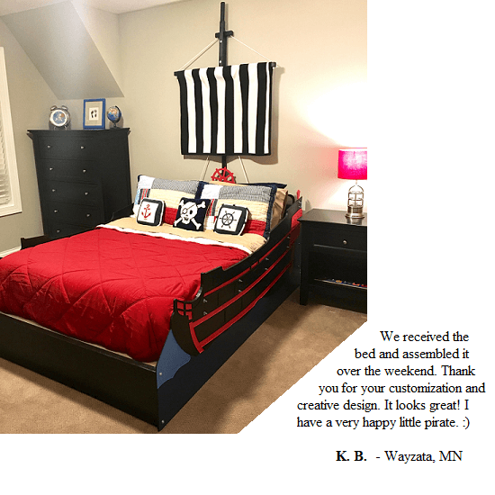Kids bed frame customer testimonial 21