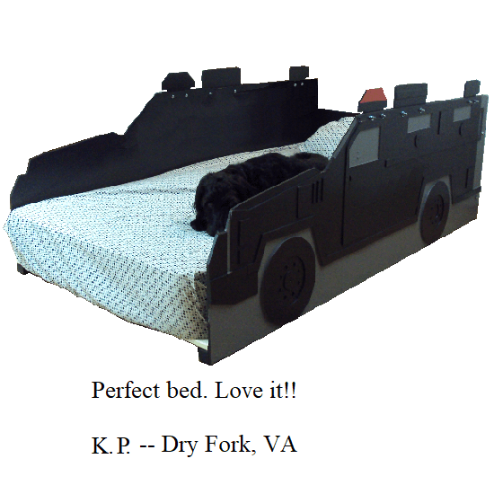 Perfect bed. Love it!! -- K.P. -- Dry Fork, VA