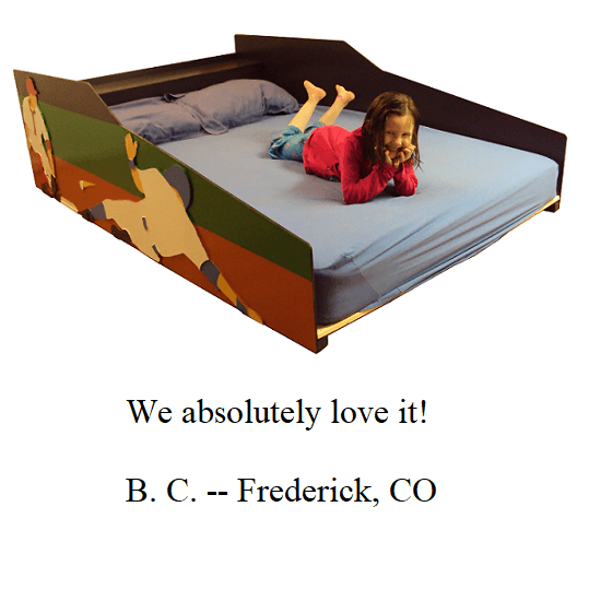 We absolutely love it! -- B.C. -- Frederick, CO