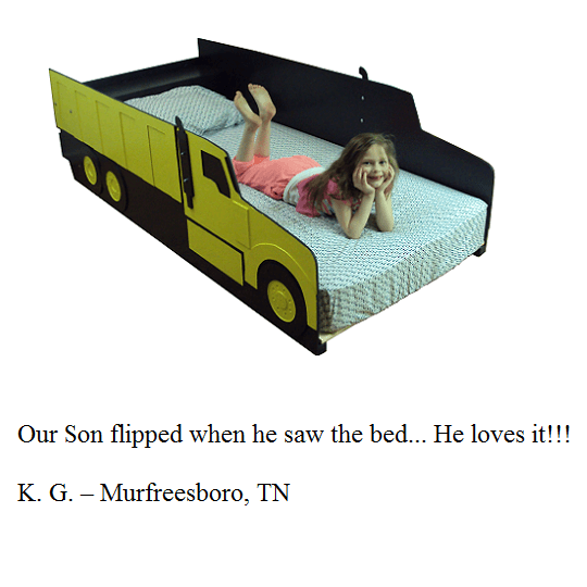 Kids bed frame customer testimonial 5