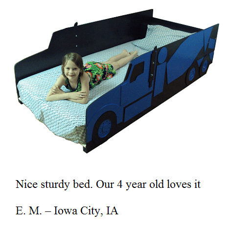 Kids bed frame customer testimonial 9